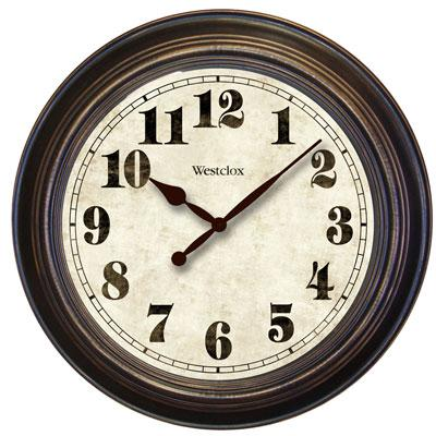 "Westclox 32213 24"" Oversized Classic Clock"