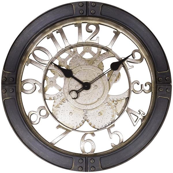 "16"" GEARS WALL CLOCK"