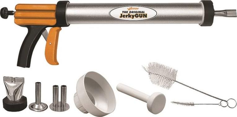 Weston 37-0111-W Original Jerky Gun, Aluminum Tube, Stainless Steel Attachment