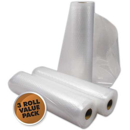 8X22' Roll 3 Pack Vacuum Bags