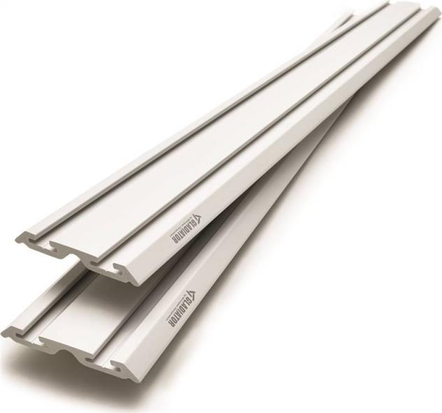 CHANNEL WALL 4FT X 6IN 2-PACK