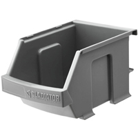 BINS SMALL ITEM CHARCOAL 3PK