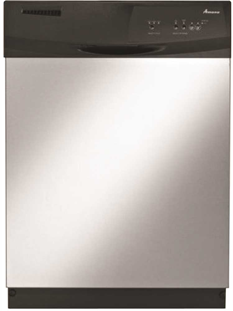 AMANA� BUILT-IN 24 IN. TALL DISHWASHER WITH ELECTRONIC FRONT CONTROLS, STAINLESS STEEL, 3 CYCLES