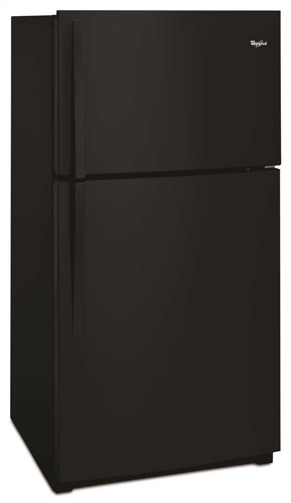 21.3 cu. ft. Top-Freezer Refrigerator with LED Interior Lighting, Black