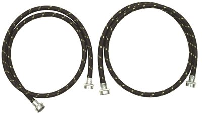 WHIRLPOOL� INLET WASHER HOSE WITH NYLON BRAID AND GOOSENECK FITTINGS, 6 FT.