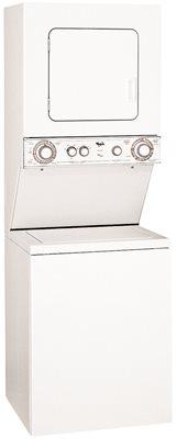 WHIRLPOOL� COMBINATION, ELECTRIC WASHER/DRYER, WHITE, 5 WASH CYCLES