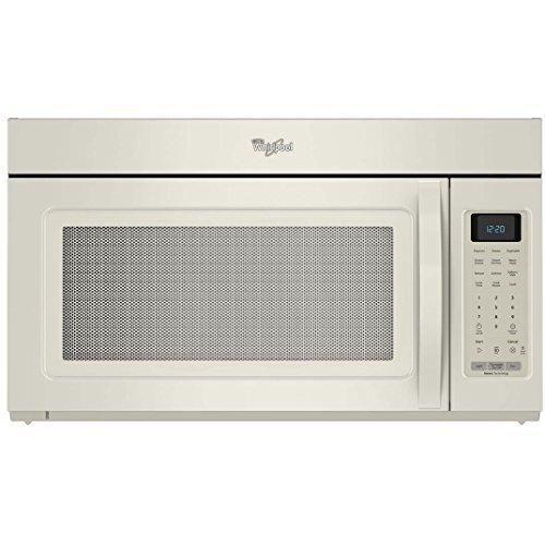 Whirlpool 1.7 CU. FT. 1000 Watt Compact Countertop Microwave Oven, Biscuit