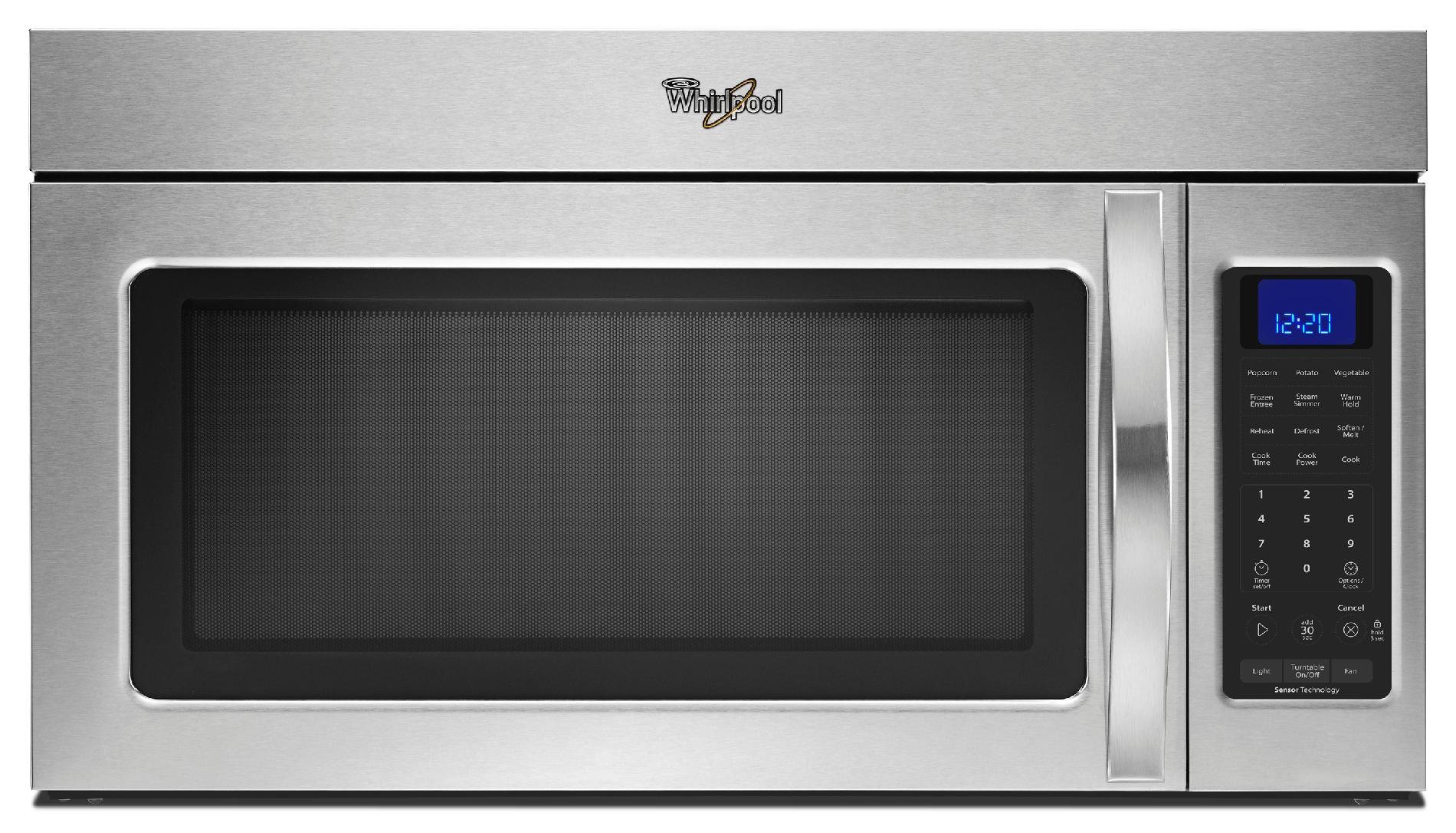 1.9 cu. ft. Capacity Over-the-Range Steam Microwave With Sensor Cooking, Stainless Steel
