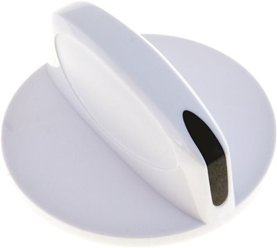 KNOB, INFINITE, WHITE, FITS AMANA�, MAGIC CHEF�, WHIRLPOOL�