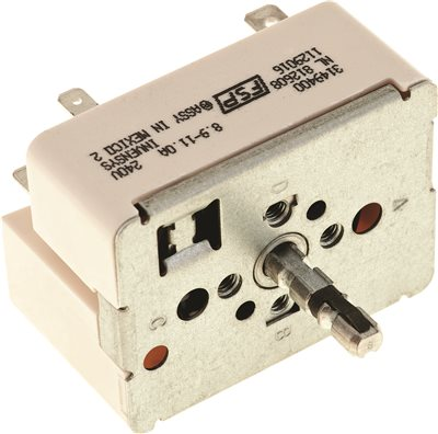 SURFACE BURNER CONTROL SWITCH, 8 IN. FOR WHIRLPOOL�