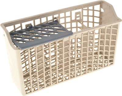 SILVERWARE BASKET, WHITE, FITS WHIRLPOOL� , AMANA� , MAGIC CHEF� , MAYTAG�