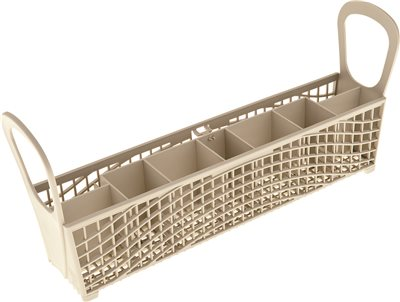 SILVERWARE BASKET, WHITE, FITS WHIRLPOOL� , AMANA� , KENMORE� , MAGIC CHEF� , ROPER�