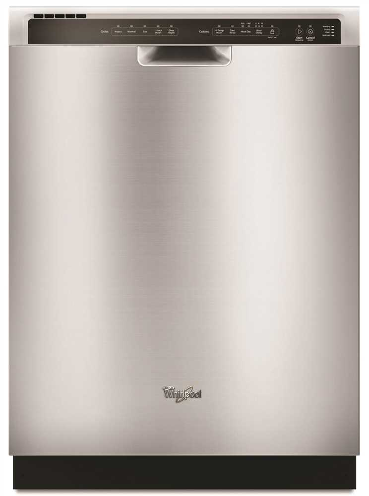 WHIRLPOOL� BUILT-IN 24-INCH DISHWASHER WITH ELECTRONIC CONTROLS, STAINLESS STEEL, 5 CYCLES / 5 OPTIONS