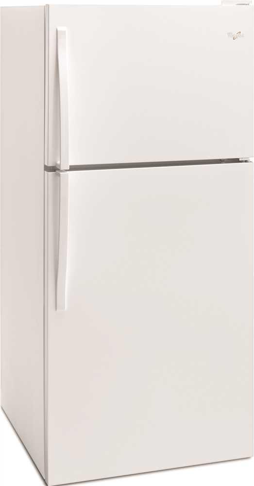 WHIRLPOOL� 18 CU. FT. TOP-FREEZER REFRIGERATOR, WHITE, REVERSIBLE DOOR