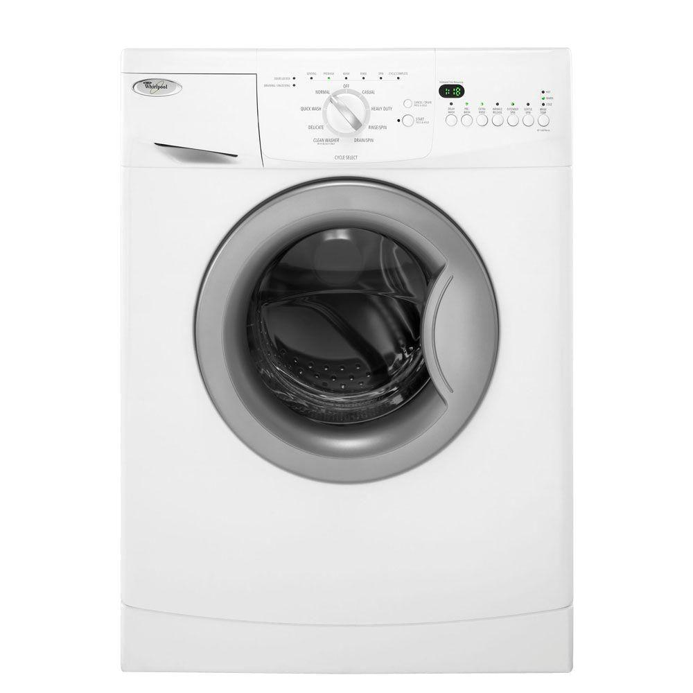 WHIRLPOOL� ENERGY STAR� 2 CU. FT COMPACT WASHING MACHINE, WHITE, 8 WASH CYCLES