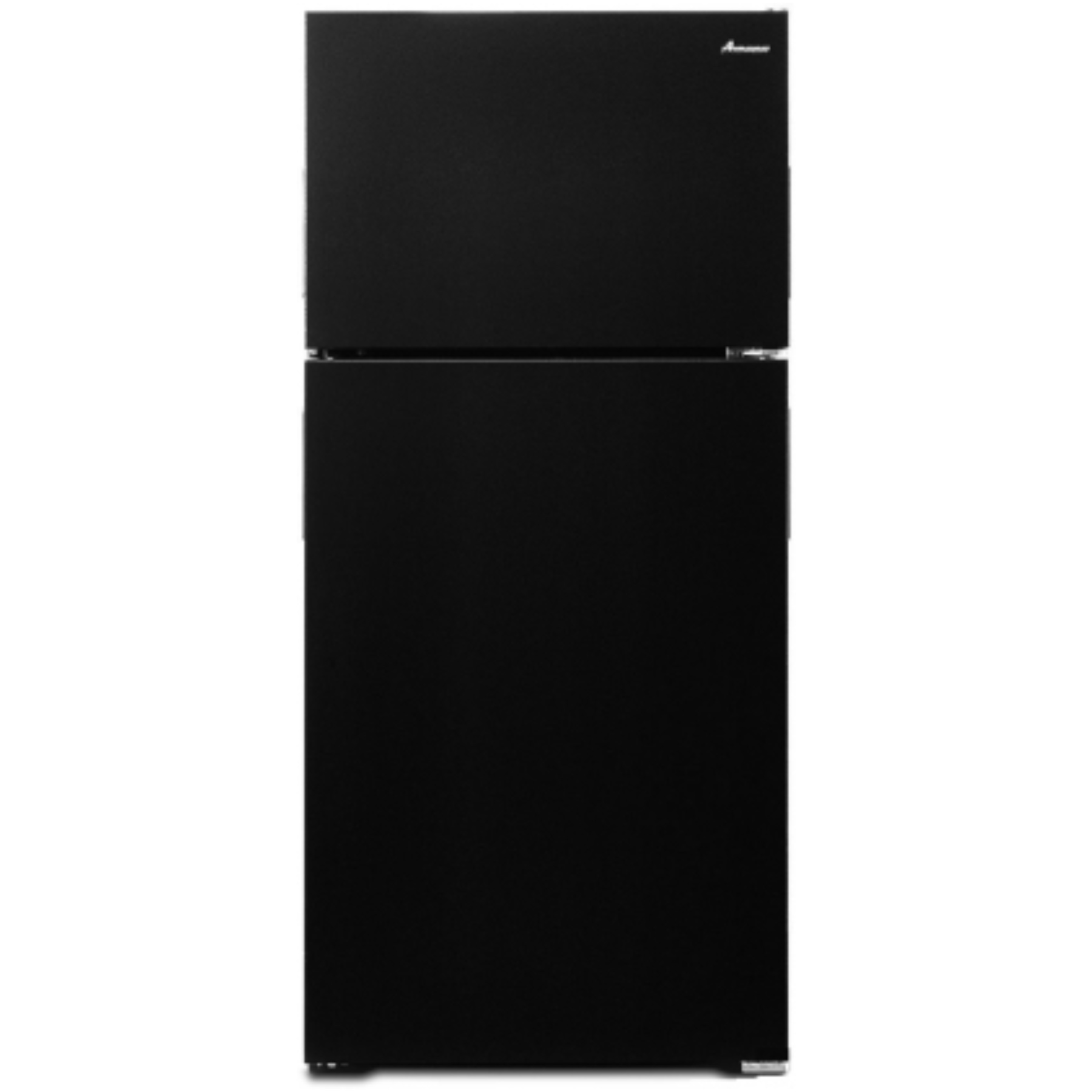 AMANA� 16 CU. FT. TOP-FREEZER REFRIGERATOR, BLACK, REVERSIBLE DOOR