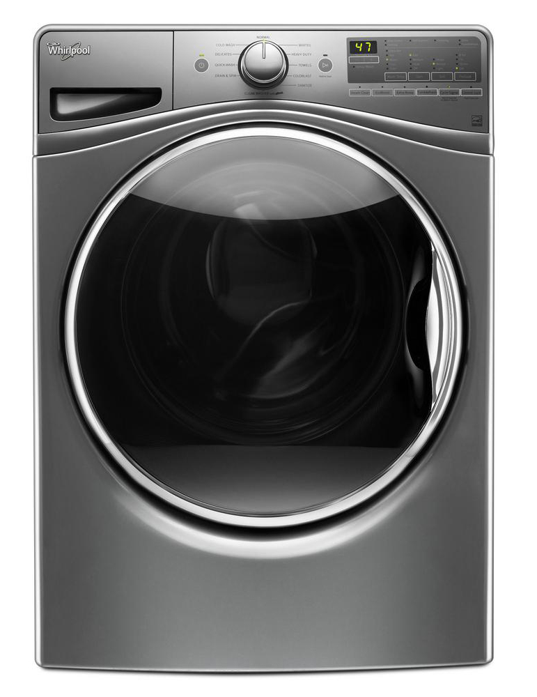 WHIRLPOOL� DUET� 4.3 CU. FT. FRONT LOAD WASHING MACHINE WITH STEAM CLEAN OPTION, WHITE, 10 WASH CYCLES