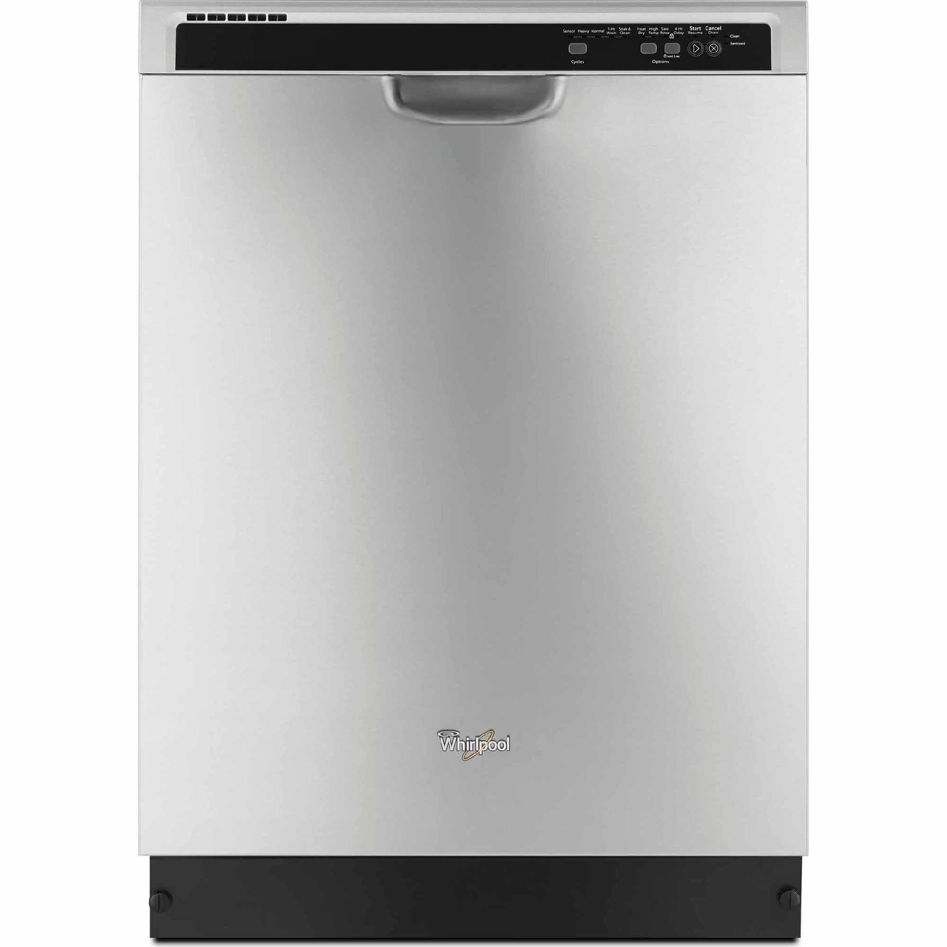 Energy Star&Reg; Certified Built-In Dishwasher With Sensor Cycle, Monochromatic Stainless Steel