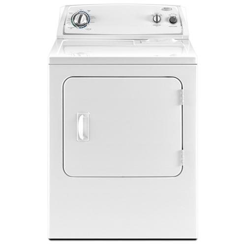 WHIRLPOOL� 7.0 CU. FT. FRONT LOAD ELECTRIC DRYER, WHITE, 14 DRYING CYCLES