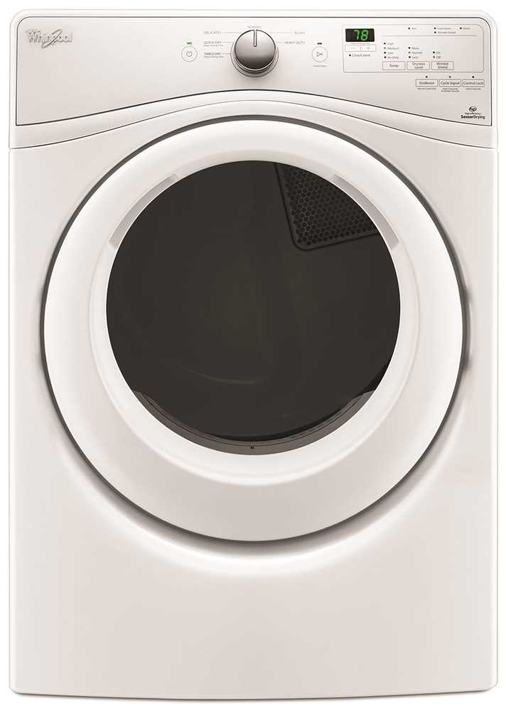 WHIRLPOOL� DUET� 7.4 CU. FT. HIGH EFFICIENCY FRONT LOAD GAS DRYER WITH QUAD BAFFLES, CHROME SHADOW, 6 CYCLES