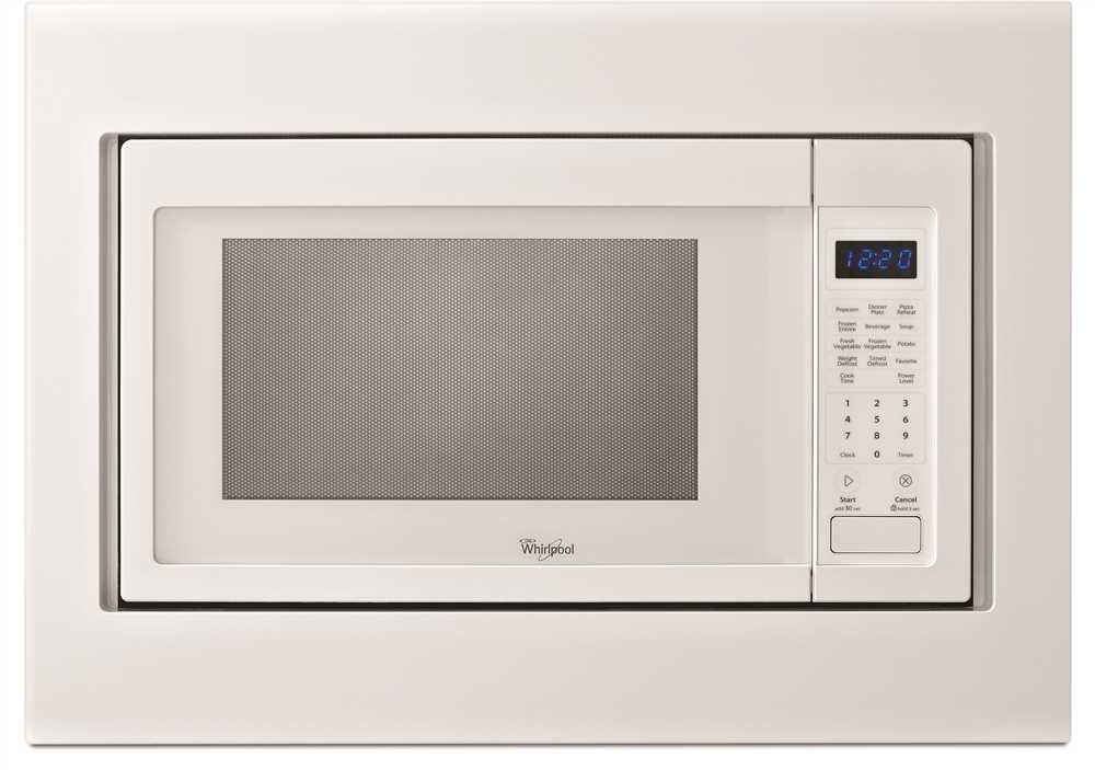 Countertop Microwave Trim Kit : ... WHIRLPOOL 1.6 CU. FT. COUNTERTOP MICROWAVE TRIM KIT, WHITE, 30 IN