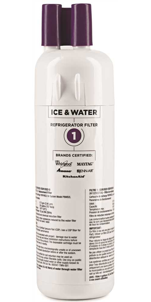 WHIRLPOOL EVERYDROP�  REPLACEMENT REFRIGERATOR WATER FILTER, 1