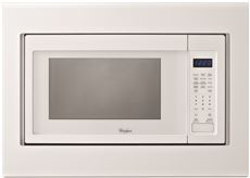WHIRLPOOL� 1.6 CU. FT. COUNTERTOP MICROWAVE TRIM KIT, WHITE, 27 IN