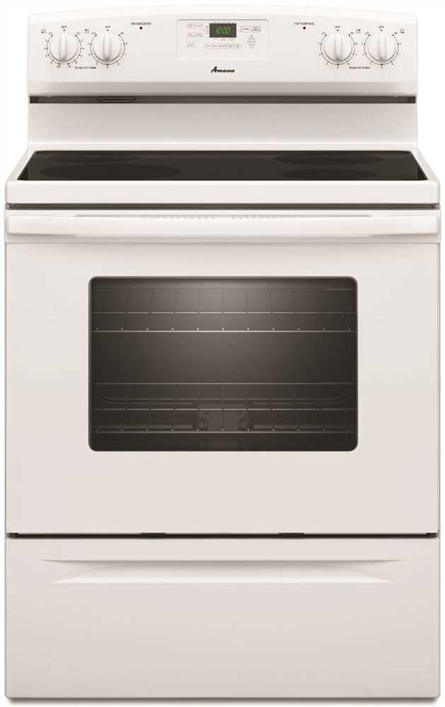 4.8 Cu.Ft. Free-Standing Electric Range, White