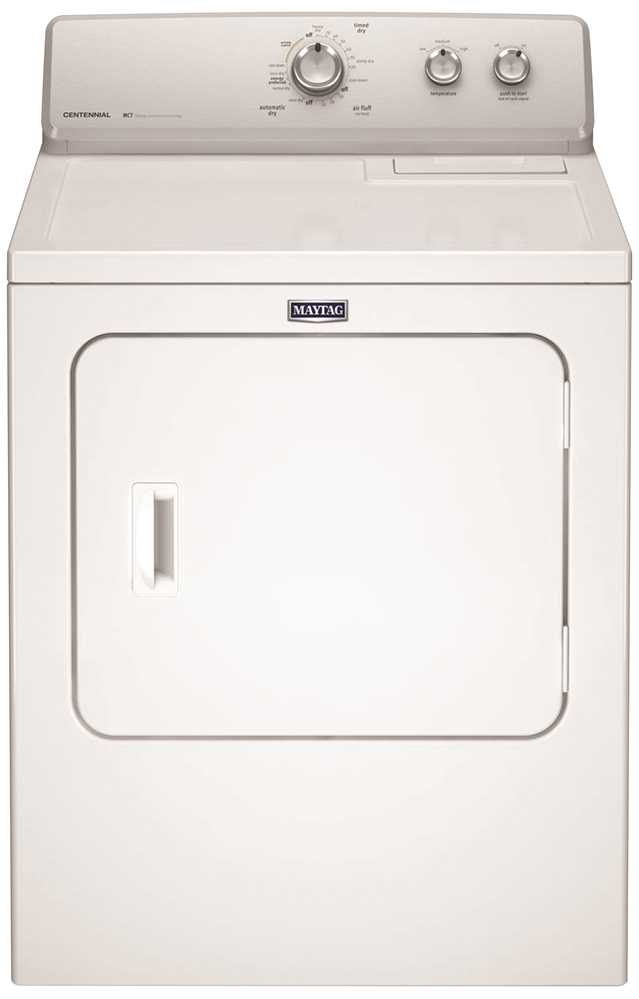 MAYTAG� 7.0 CU FT. LARGE CAPACITY ELECTRIC DRYER , WRINKLE CONTROL, WHITE