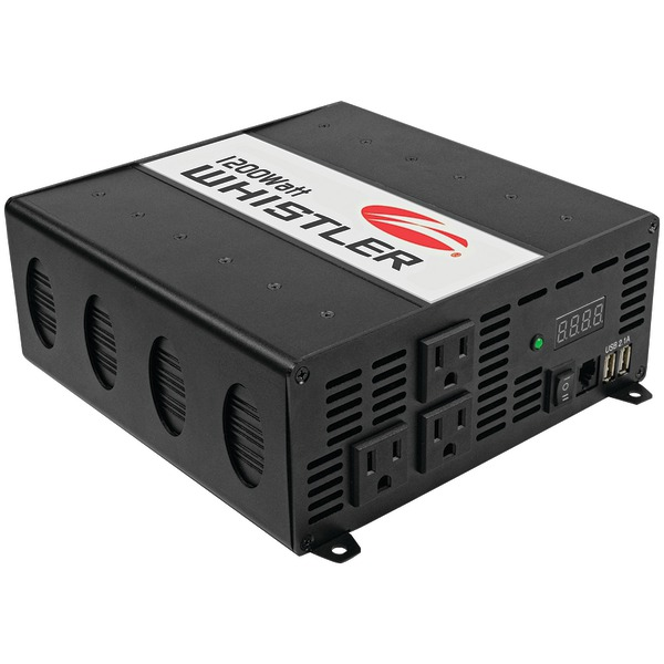 WHISTLER XP1200i XP Series 1,200-Watt-Continuous Power Inverter