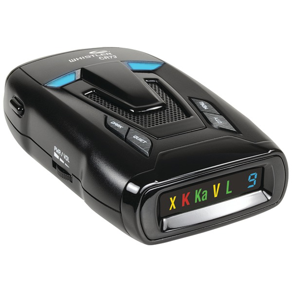 Whistler CR73 CR73 Bilingual Laser/Radar Detector