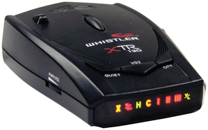 WHISTLER XTR-130 XTR-130 Laser/Radar Detector with Bright Icon Display