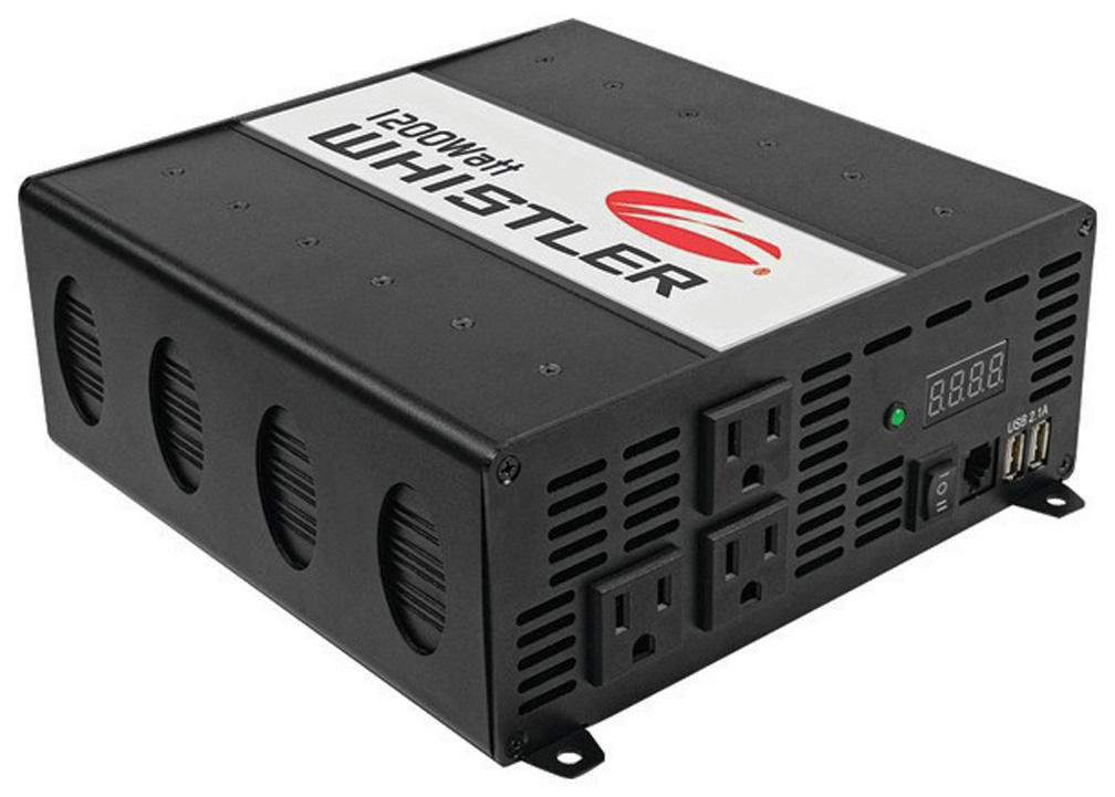 Whistler 1200 watt power inverter