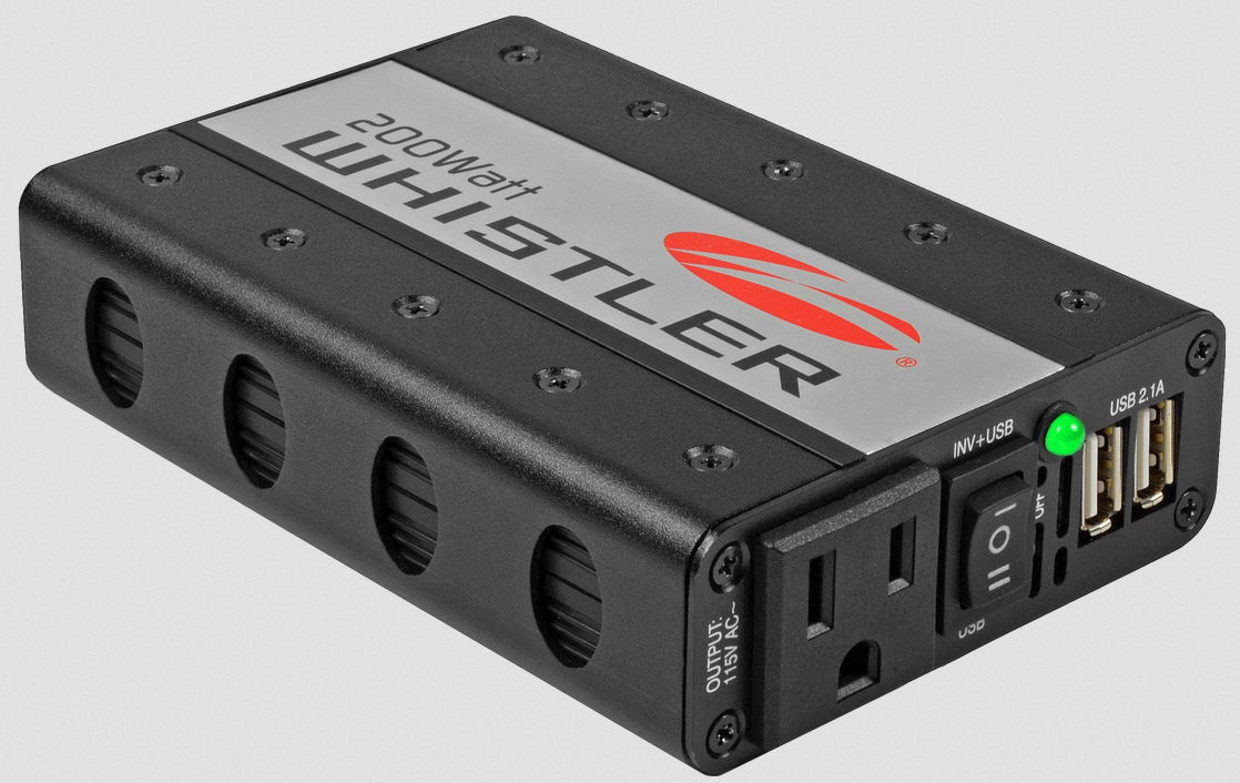 Whistler 200 watt continous power inverter