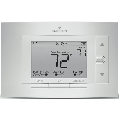Sensi Wi-Fi Programmable Thermostat, Universal, 4 Heat / 2 Cool