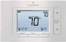 EMERSON� 80 SERIES� UNIVERSAL NON-PROGRAMMABLE THERMOSTAT, 5 IN. DISPLAY, 2 HEAT / 2 COOL