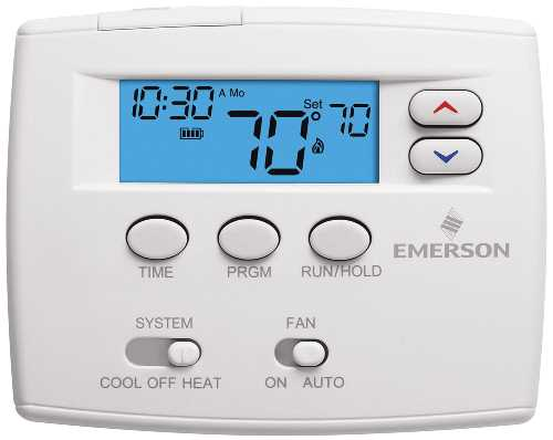 PROGRAMMABLE DIGITAL THERMOSTAT 1F80 0261