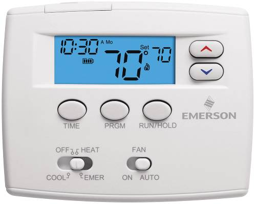 PROGRAMMABLE DIGITAL THERMOSTAT 1F82 0261