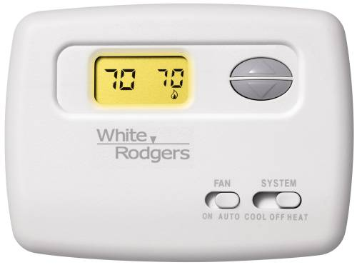 WHITE-RODGERS� NON-PROGRAMMABLE DIGITAL THERMOSTAT