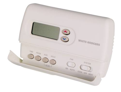 WHITE RODGERS DIGITAL HEAT PUMP THERMOSTAT PROGRAMMABLE 5+2 DAY