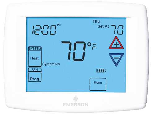 WHITE RODGERS TOUCH SCREEN THERMOSTAT