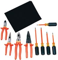 W H Salisbury 9 Piece Set Basic Electrician Insulated Tool Kit