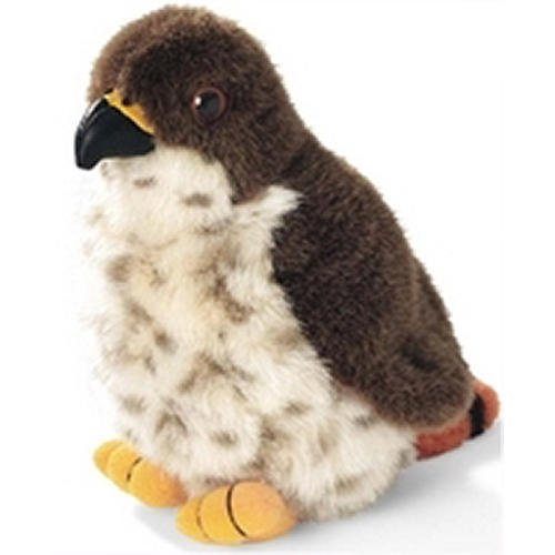 Red-Tailed Hawk - Audubon Plush Bird (Authentic Bird Sound)