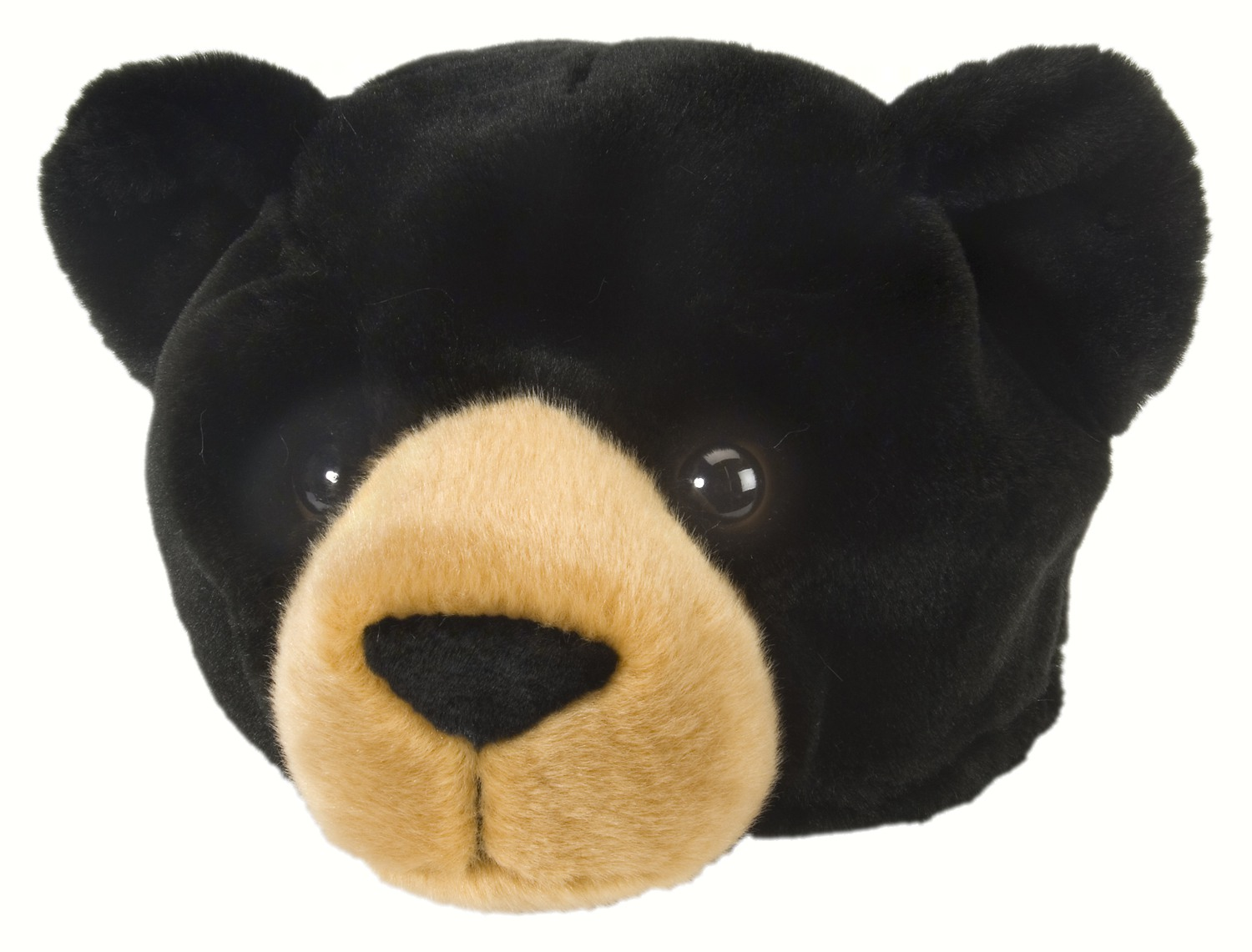 Plush Hat Black Bear