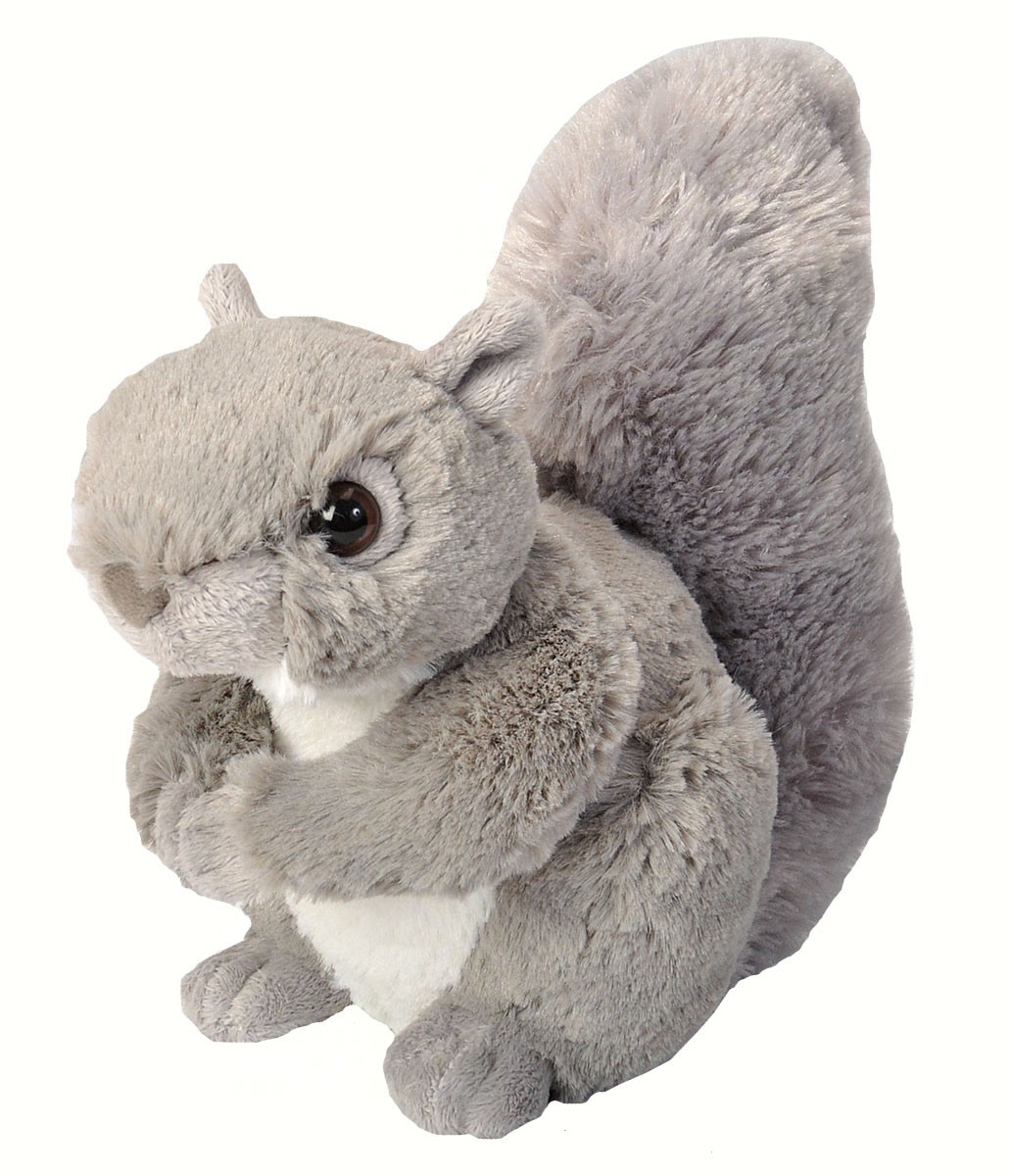 Grey Squirrel 8 inch