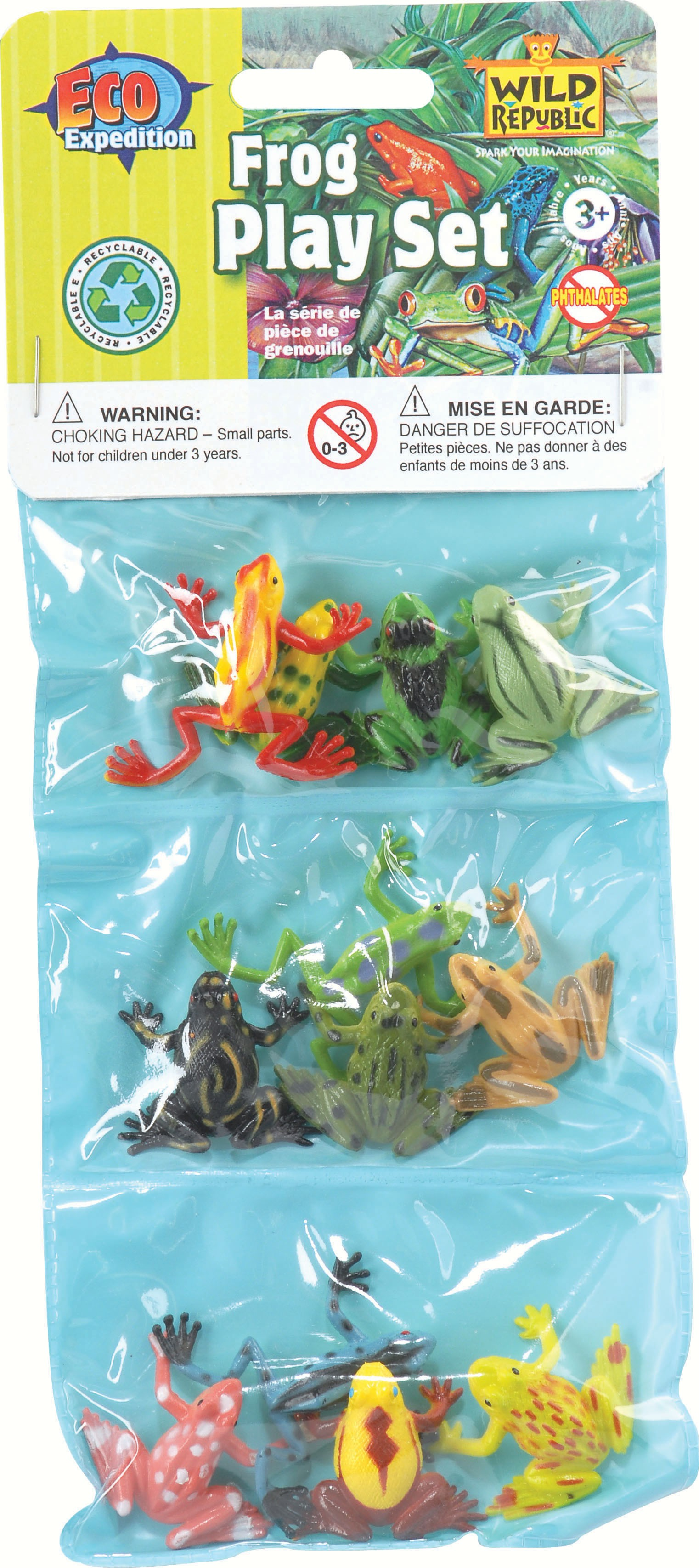 Mini Frogs Playset