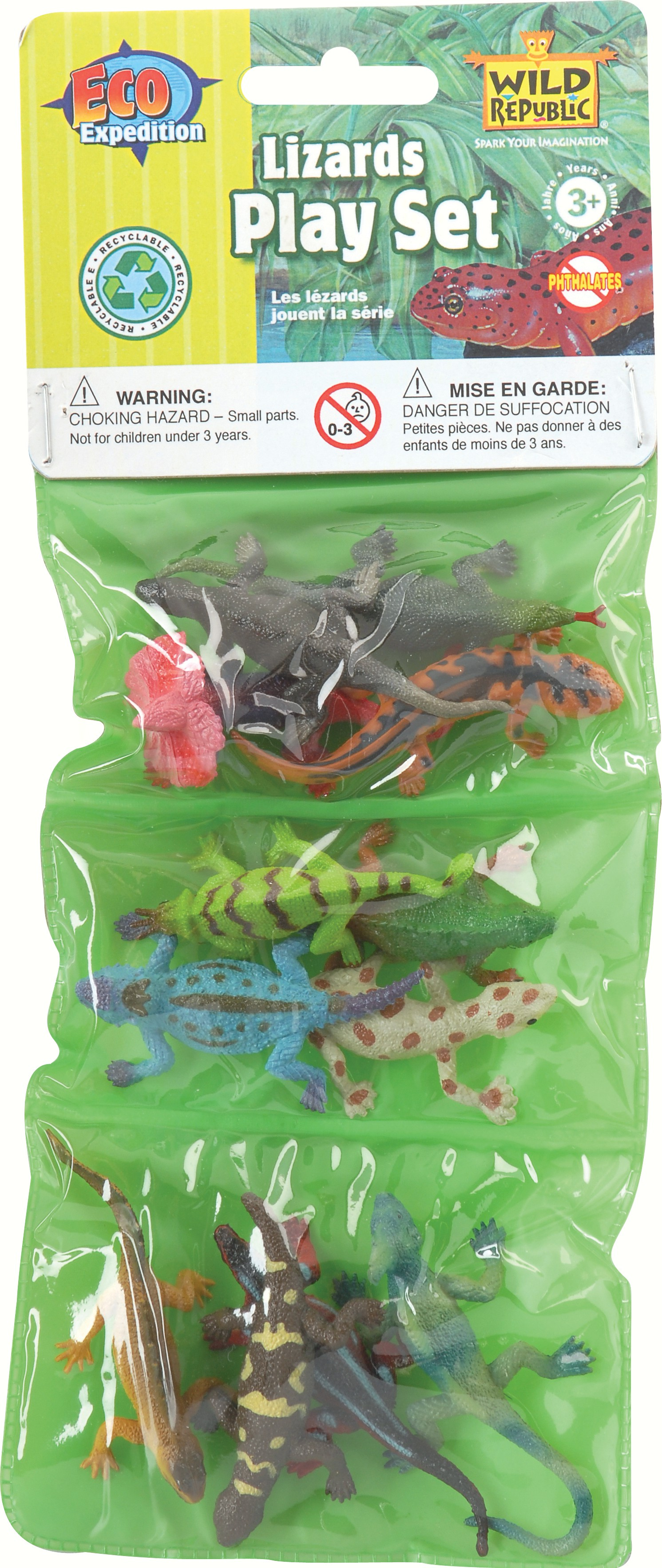 Mini Lizards Playset
