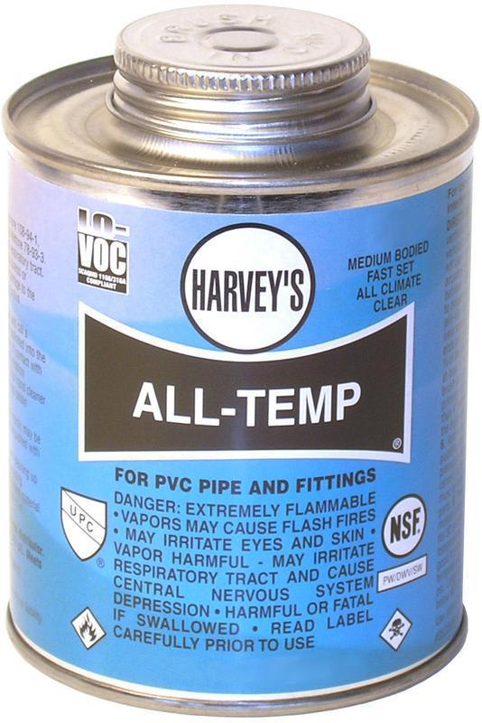 01832012 16Oz COLD PVC CEMENT