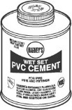 Quart Blue PVC Cement