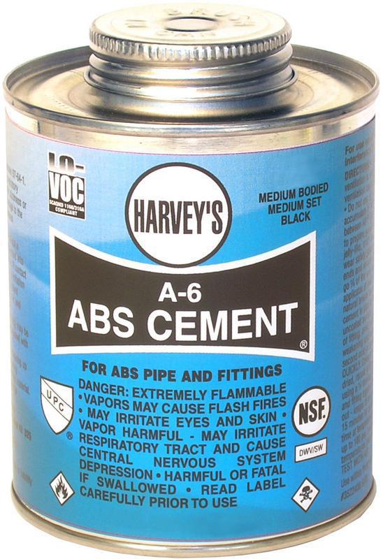 018500-24 1/4PT BL ABS CEMENT